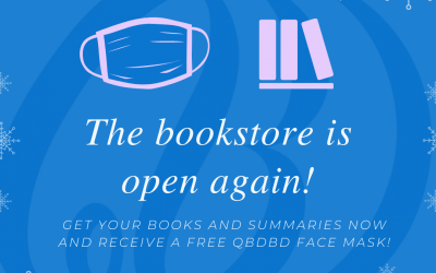 The bookstore is open again!